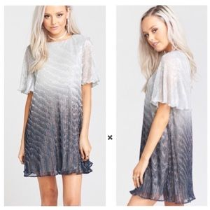 Show Me Your MuMu Jenner Icicle Dip Dye Dress